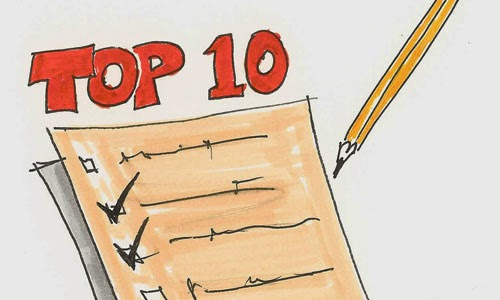Image result for top ten list